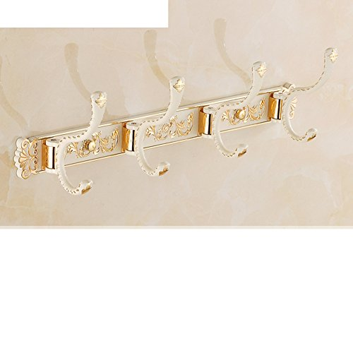 European-style hook/row hook/Bathroom Clothes hook/Wall hanger/After the door hooks/coat and hat hook -P 60%OFF