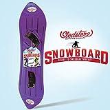 Sledsterz The Original Kids' Snowboard by Geospace