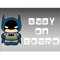 Batman Baby on Board, decal, vinyl, sticker, graphic