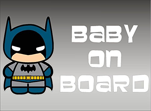 (Batman Baby on Board, decal, vinyl, sticker, graphic)