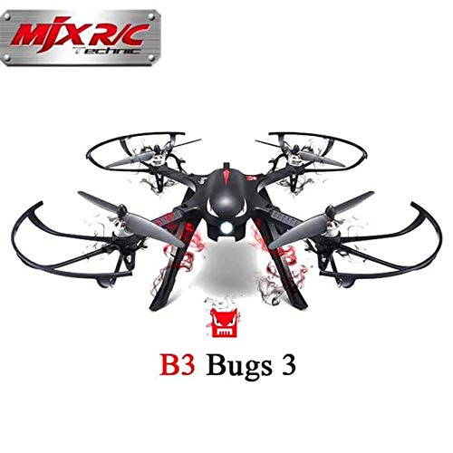 ETbotu MJX B3 Bugs - Rollo de 3 bichos sin escobillas para GoPro 3 ...