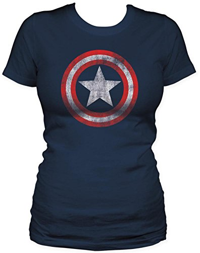 Captain America Juniors' Marvel Comics Shield T-Shirt
