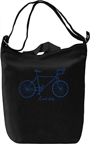 Road bike Borsa Giornaliera Canvas Canvas Day Bag| 100% Premium Cotton Canvas| DTG Printing|
