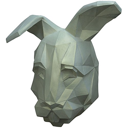 Ghoulish Masks Adult White Low Poly Bunny Halloween Mask