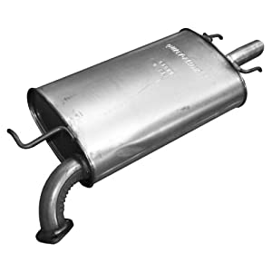 Walker 53602 Quiet-Flow Stainless Steel Muffler Assembly