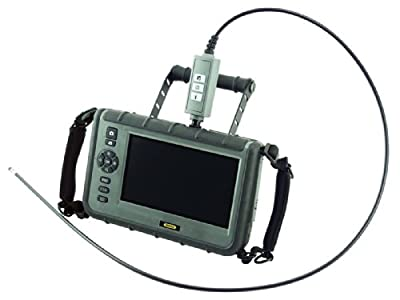 General Tools DCS2000 Rugged VGA Recording Borescope Video Inspection Camera with 7 in. HD LCD Monitor