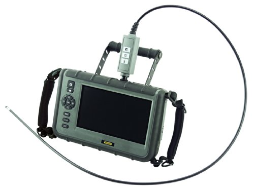 General Tools Dcs2000 Rugged Vga Recording Borescope Video Inspection Camera With 7 Hd Lcd Monitor