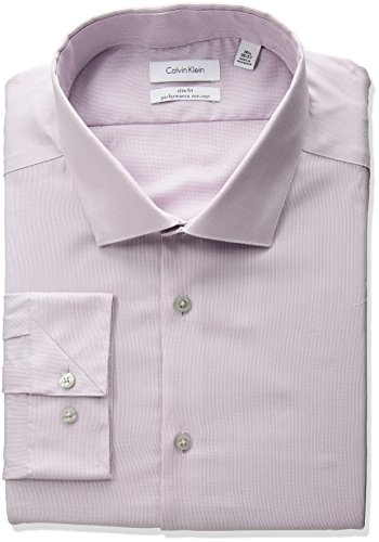 Calvin-Klein-Mens-Non-Iron-Stretch-Slim-Fit-Unsolid-Solid-Dress-Shirt