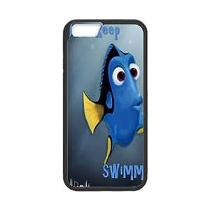 "Hjqi - Custom Just Keep Swimming Phone Case, Just Keep Swimming Customized Case for iPhone6 Plus 5.5"""