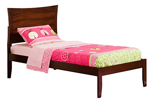 Metro Open Foot Bed, Twin X-Large, Antique Walnut
