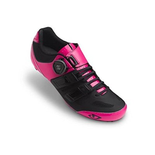 Giro raes techlace 17bici da corsa scarpe da donna rosa/nero, Unisex, 40