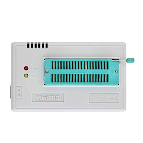(Mairuay TL866CS Programmer USB Universal Programmer FLASH 8051 AVR MCU GAL PIC SPI 5 Adapters)