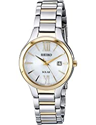 Seiko Womens SUT210 Two-Tone Stainless Steel Watch