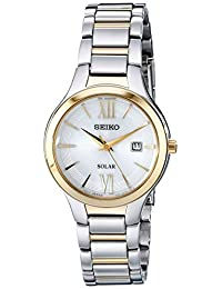 Seiko Women's SUT210 Two-Tone Stainless Steel Watch