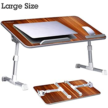 Avantree [Large Size] Adjustable Laptop Bed Table, Portable Standing Desk,  Foldable Sofa