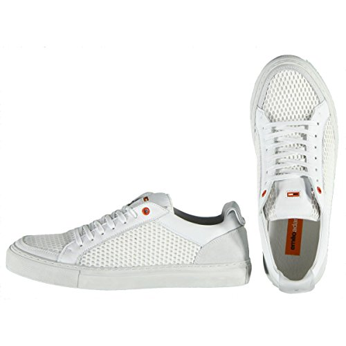 Sneaker Trendy Da Uomo Emilio Adani, 25013, Bianca