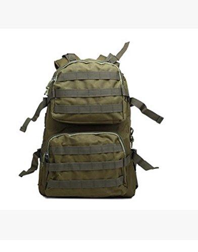 HCLHWYDHCLHWYD-Camuflaje mochila de senderismo bolsa de hombres y mujeres al aire libre bolsas impermeables de montañismo paquete de camping , 2 4