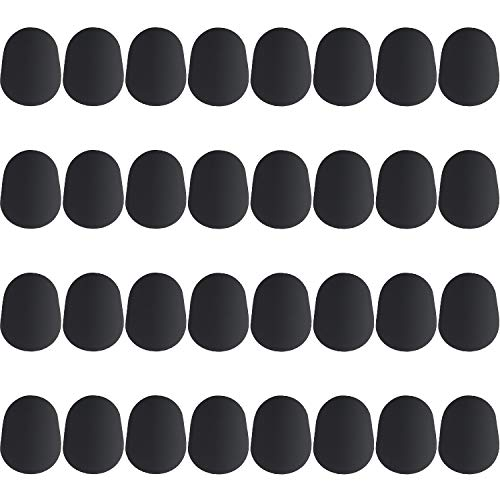 0.8 Mm Wide Tips - Boao 32 Pieces Mouthpiece Cushion 0.8 mm Mouthpiece Patches for Alto and Tenor Saxophone and Clarinet, Black