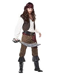 California Costumes Men's Adult Rogue Pirate Pirate Cutlass Bundle