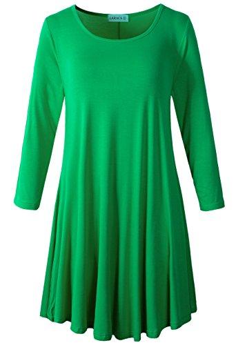3x green dress - 4