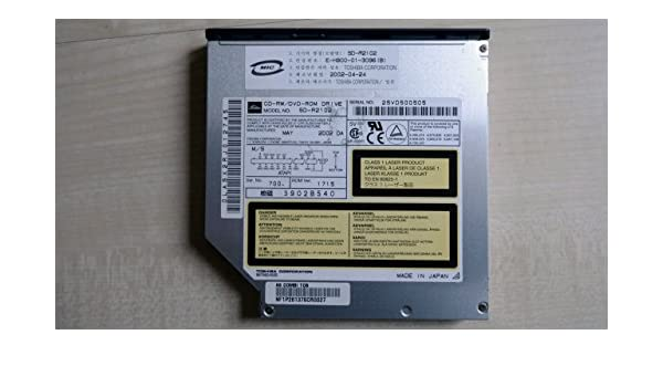 TOSHIBA SD-R2102 DRIVER FOR PC