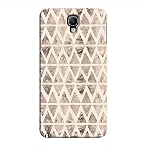 Cover It Up - Stone Triangles Pink Galaxy Note 3 Neo Hard case
