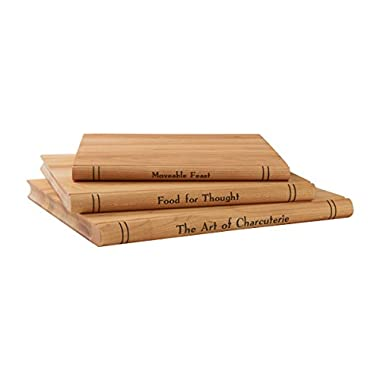 J.K. Adams Trilogy Collection Serving Board, Maple