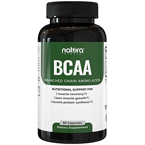 SALE - SAVE 58% - Top Rated BCAA Capsules | Most Potent Branched Chain Amino Acids on Amazon | The Best Natural Bodybuilding Supplement for Muscle Recovery | 60 Capsules