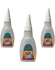 Akfix 702, 3 x 25 g superlim   superlim   trälim Super Glue   CA lim   superlim extra starkt   allmänt syfte professionellt snabblim   pyssellim [klart superlim)