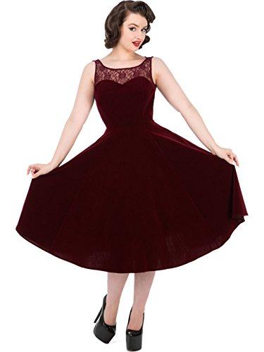 Love Camden - Robe - Robe - Femme rouge bordeaux taille unique