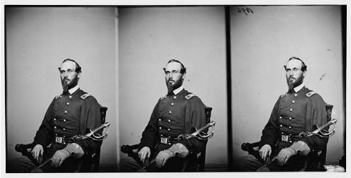 Morrison Jersey - Photo: Colonel AJ Morrison 3rd New Jersey Cavalry,Federal troops,Union soldiers,1860