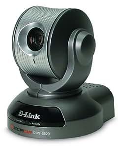 D-Link DCS-6620 10/100TX PTZ Dual Codec 0.05 Lux Optical Zoom Internet Camera