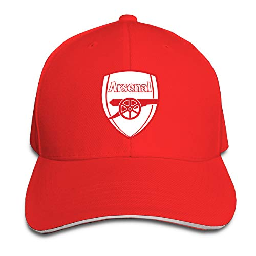 YSBGHAT Arsenal Fc 1930-1936 Casual Trucker Baseball Cap Adjustable Sandwich Hat Red