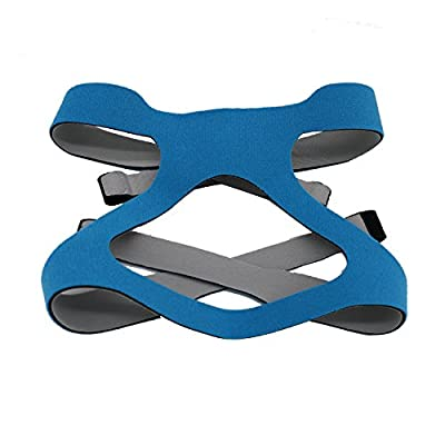 CPAP Headgear Strap,Universal ResMed & Respironics Replace Straps for CPAP/BIPAP Mask(blue)
