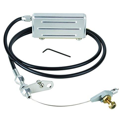 Transmission 400 Parts Turbo (Lokar KD-2400U Black Electric Kickdown Kit for GM TH-400 Transmission)