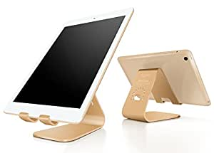 Spinido Aluminum Tablet Stand Holder for iPad Air/Mini, Gold