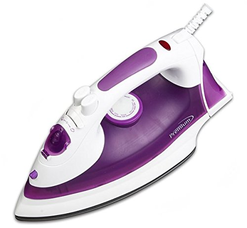 Premium PIV7157 Steam and Dry Iron with Bonus Mat by Premium