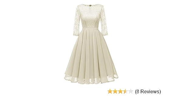 c3830f3c0d42a Womens Dresses Ladies Vintage Princess Floral Lace Cocktail O-Neck Party  A-line Elegant Swing Dress