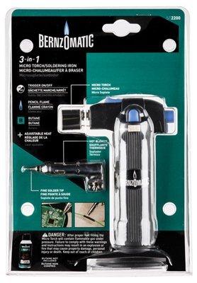 Bernz-O-Matic ST2200T Micro Flame Butane Torch Kit by Bernz-O-Matic