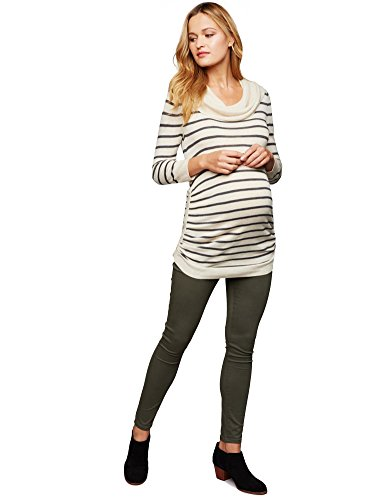 A Pea in the Pod Secret Fit Belly Sateen Skinny Leg Maternity Pants by A Pea in the Pod