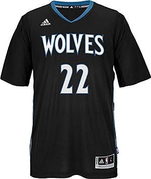 Andrew Wiggins Minnesota Timberwolves NBA Swingman suplente réplica de la camiseta – negro, ...