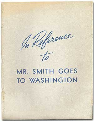 In Reference to Mr. Smith Goes to Washington