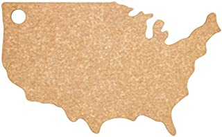 product image for Epicurean USA Shaped Cutting and Serving Board, 17.75 Inches by 11-Inches, Natural