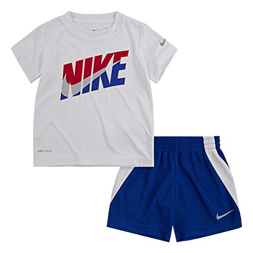 Nike Boy`s Dri-Fit T-Shirt & Shorts 2 Piece Set