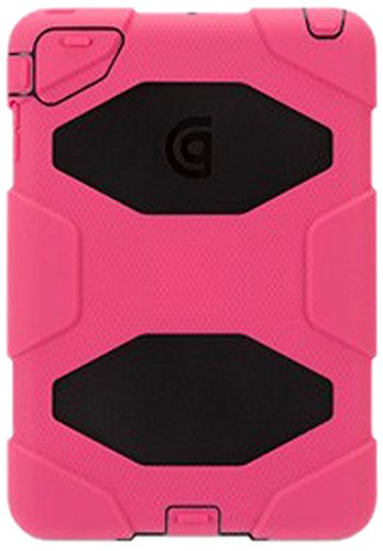 Griffin Apple IPad Mini/iPad Mini Retina Griffin Survivor Case, Pink, Black (GB35920-2)