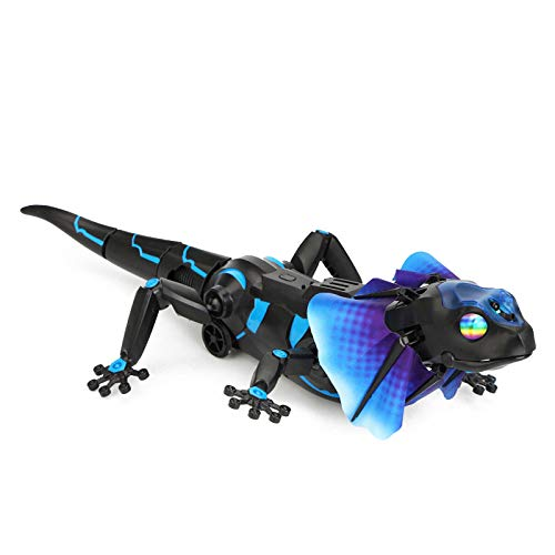 SOWOFA RC Animals Remote Controls Infrared Sensing Lizard Realistic Toy Moving Walking Color Change w/ Sound Lighting Electric Pet Joke Toys by SOWOFA (Image #2)