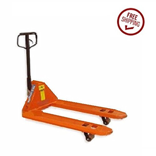 Mighty Lift Narrow Fork Manual Pallet Jack 20'' wide x 48'' long 5500# Capacity by Hydraulic (Image #2)