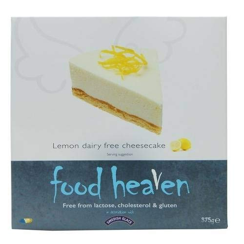 Food Heaven Tarta De Queso De Limón Siciliana 375g (Pack de 4)