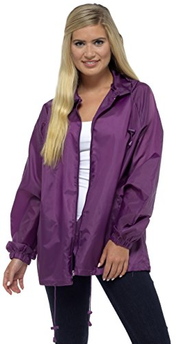 Mac Pack ROC Jacket Indigo Zip Rain Away Storm Ridge Full Purple Ladies xBTqw11py0