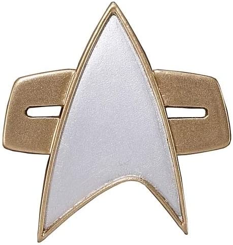 Star Trek Deep Space Nine Uniform Combadge Communicator Pin Com Badge DS9